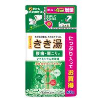 きき湯 マグネシウム炭酸湯 詰め替え 480g バスクリン(約16回分)