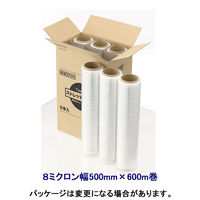 アスクル 司化成工業ストレッチフィルム8μ幅500×600