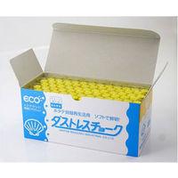 ダストレスチョーク 黄 DCC-72-Y 1箱(72本入) 日本理化学工業