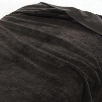 無印良品 再生ペットのポリエステル使い片面フリース毛布・S/ブラウン 38721543 良品計画
