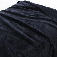 再生ペットのポリ使い片面フリース毛布・S