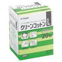 オオサキメディカル クリーンコットン Lサイズ 1箱