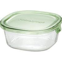 iwaki(イワキ) パック&レンジ グリーン 450ml 1個 AGCテクノグラス