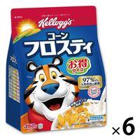 ケロッグ コーンフロスティ徳用 袋 395g 1セット(6袋)