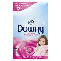 ダウニー(Downy) 乾燥機用柔軟仕上げ剤シート エイプリルフレッシュ 80枚入 1個 P&G