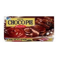 ロッテ 冬のチョコパイ<深みチョコ仕立て> 1個