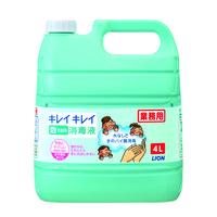 キレイキレイ薬用泡で出る消毒液 業務用4L(注ぎ口ノズル付) 1本