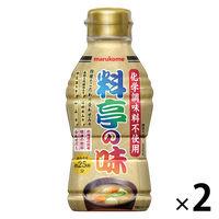 マルコメ 液みそ料亭の味 四種合わせ 430g 1セット(2本入)