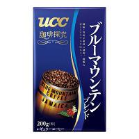 【コーヒー粉】UCC 珈琲探究 ブルーマウンテンブレンド VP 1袋(200g)