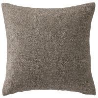 無印良品 ウール原毛色座ぶとんカバー/ブラウン 55×59cm用 38750529 良品計画