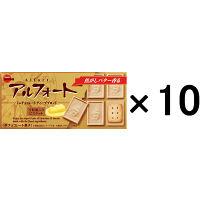 ブルボン アルフォートミニチョコレートディープブロンド 12個入 1セット(10箱入)