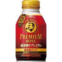 サントリー プレミアムボス 超深煎りプレミアム 260g 1セット(48缶)