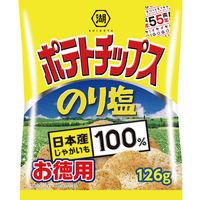コイケヤポテトチップス お徳用 のり塩126g