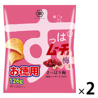 コイケヤ(湖池屋) お徳用すっぱムーチョチップスさっぱり梅味 126g 1セット(2袋入)