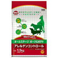 Well Care(ウェルケア) ドッグフード オールステージ ポ-ク&ポテト 1.5kg 1個 イースター