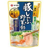 ヤマキ ヤマキ だし屋の鍋 豚しゃぶ野菜鍋つゆ プレムアム豆乳仕立て(750g)