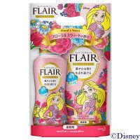 【数量限定】フレアフレグランス フローラルスウィートの香り ディズニーデザイン 本体(570ml)+詰め替え(480ml) 柔軟剤 花王