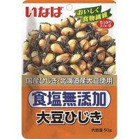 いなば食品 食塩無添加大豆ひじき 1セット(3個)