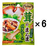 味覚糖 茸のまんまエリンギパクチー 6袋