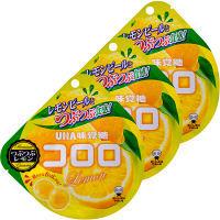 味覚糖 コロロ つぶつぶレモン 1セット(3袋入)