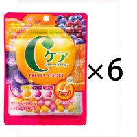 味覚糖 Cケアジューシーコラーゲンフルーツアソート 1セット(6袋入)
