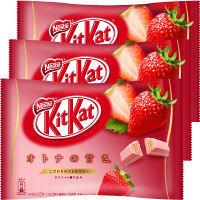 キットカット ミニ オトナの甘さ ストロベリー 12枚 1セット(3袋入) ネスレ日本