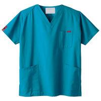 フォーク 医療白衣 カラースクラブ(男女兼用) 7000SC-11 ターコイズ LL