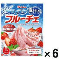 【アウトレット】ハウス食品 フローズンフルーチェ イチゴ  1セット(6個:1個×6)
