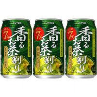 サッポロ 茶房いっぷく香るお茶割り 340ml 3缶