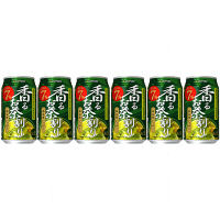 サッポロ 茶房いっぷく香るお茶割り 340ml 6缶