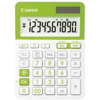 キヤノン カラフル電卓 グリーン LS-103TUC-GR