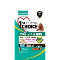 1st CHOICE(ファーストチョイス) ドッグフード 7歳以上の高齢犬用 おいしい低脂肪 チキン 中粒 2.7kg 1袋 アース・ペット