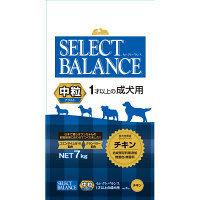 セレクトバランス ドッグフード アダルト 1才以上の成犬用 チキン 中粒 7kg 1袋 ベッツ・チョイス・ジャパン