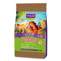 HALO(ハロー) ドッグフード シニア7+ 7才位からの中高齢犬 小粒 ヘルシーサーモン 900g 1袋 ベッツ・チョイス・ジャパン