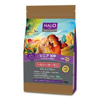HALO(ハロー) ドッグフード シニア10+ 10才位からの高齢犬 小粒 ヘルシーサーモン 900g 1袋 ベッツ・チョイス・ジャパン