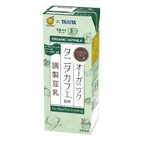マルサンアイ マルサンアイ タニタカフェ(R)監修 オーガニック 調整豆乳 200ml 1箱(24本)