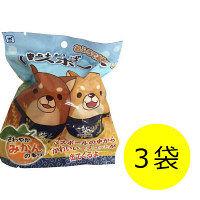 忠犬もちしば バスボール 1セット(3袋) エスケイジャパン