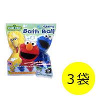 セサミストリート バスボール 1セット(3袋) エスケイジャパン