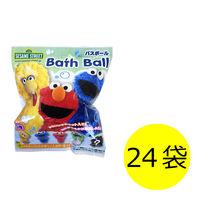 セサミストリート バスボール 1セット(24袋) エスケイジャパン