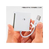 サンワサプライ USB2.0 カードリーダー ADR-ML15BK (取寄品)