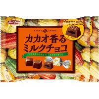 正栄デリシィ カカオ香るミルクチョコ 1セット(2袋入)