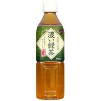 富永貿易 神戸茶房 濃い緑茶 500ml 1セット(48本)