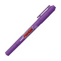プロッキー 水性ペン 細・極細ツイン 紫 三菱鉛筆 uni