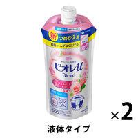ビオレu エンジェルローズの香り ボディウォッシュ 詰め替え 340ml 1セット(2個) 花王