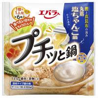 エバラ プチッと鍋 塩ちゃんこ鍋 138g(23g×6個) 1セット(2袋入)