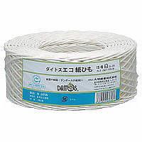 ハピラ ダイトスエコ紙ひも 白 DA-08W 1セット(10巻:1巻×10)