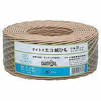 ハピラ ダイトスエコ紙ひも 茶 DA-08B 1セット(10巻:1巻×10)