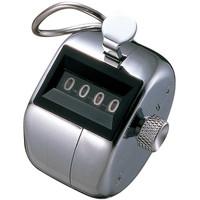 プラス 数取器 手掌用 1セット(4個:1個×4)
