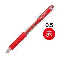三菱鉛筆(uni) VERY楽ノック SN-100 0.5mm 赤