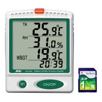 エー・アンド・デイ 温湿度SDデータレコーダー AD-5696 1台 (直送品)